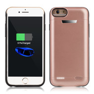 Smart Power Bank Battery Case 5800mAh for iPhone 8 / 7 / 6S / 6 - Rose Gold