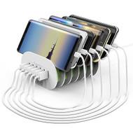 Auto-ID 6 USB Ports Universal Charging Station 35W / 7A