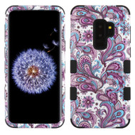 Military Grade Certified TUFF Image Hybrid Armor Case for Samsung Galaxy S9 Plus - Persian Paisley