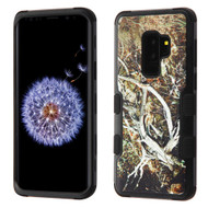 Military Grade Certified TUFF Image Hybrid Armor Case for Samsung Galaxy S9 Plus - Tree Camouflage