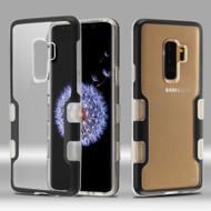 TUFF Panoview Transparent Hybrid Case for Samsung Galaxy S9 Plus - Black