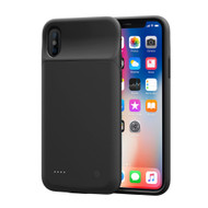 Quantum Energy Smart Power Bank Battery Case 3200mAh for iPhone X - Black