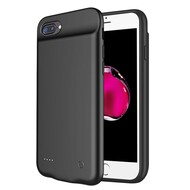 Quantum Energy Smart Power Bank Battery Case 4000mAh for iPhone 8 Plus / 7 Plus / 6S Plus / 6 Plus - Black