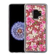 *Sale* Quicksand Glitter Transparent Case for Samsung Galaxy S9 - European Rose
