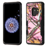 *Sale* Military Grade Certified TUFF Hybrid Armor Case for Samsung Galaxy S9 - Pink Oak Camouflage