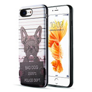 *Sale* Art Pop Series 3D Embossed Printing Hybrid Case for iPhone 8 / 7 - Bad Dog