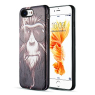 *Sale* Art Pop Series 3D Embossed Printing Hybrid Case for iPhone 8 / 7 - Smoking Monkey