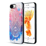 *Sale* Art Pop Series 3D Embossed Printing Hybrid Case for iPhone 8 / 7 - Mandala