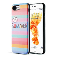 *Sale* Art Pop Series 3D Embossed Printing Hybrid Case for iPhone 8 / 7 - Summer