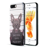 *Sale* Art Pop Series 3D Embossed Printing Hybrid Case for iPhone 8 Plus / 7 Plus - Bad Dog