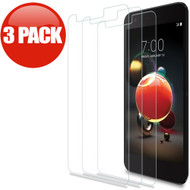 *SALE* HD Tempered Glass Screen Protector for LG Aristo 2 / Fortune 2 / K8 (2018) / Tribute Dynasty / Zone 4 - 3 Pack