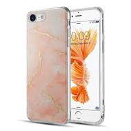 *Sale* Marble IMD Soft TPU Glitter Case for iPhone 8 / 7 - Orange