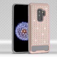 *Sale* Luxury Bling Diamond Hybrid Case for Samsung Galaxy S9 Plus- Rose Gold