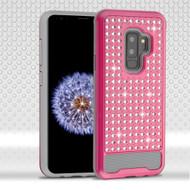 *Sale* Luxury Bling Diamond Hybrid Case for Samsung Galaxy S9 Plus- Hot Pink