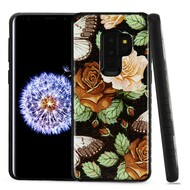 *Sale* Tough Anti-Shock Triple Layer Hybrid Case for Samsung Galaxy S9 Plus - Lucky Flowers
