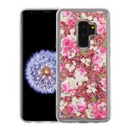 *Sale* Quicksand Glitter Transparent Case for Samsung Galaxy S9 Plus - European Rose