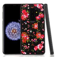 *Sale* Tough Anti-Shock Hybrid Case for Samsung Galaxy S9 Plus- Romantic Love Flowers