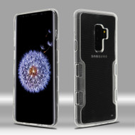 TUFF Panoview Transparent Hybrid Case for Samsung Galaxy S9 Plus - Clear