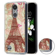 *Sale* Shockproof Crystal TPU Case for LG Aristo 2 / Fortune 2 / K8 (2018) / Tribute Dynasty / Zone 4 - Eiffel Tower