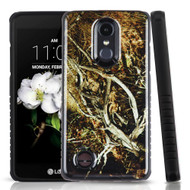 Tough Triple Layer Hybrid Case for LG Aristo 2 / Fortune 2 / K8 (2018) / Tribute Dynasty / Zone 4 - Camouflage Tree