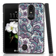 Tough Triple Layer Hybrid Case for LG Aristo 2 / Fortune 2 / K8 (2018) / Tribute Dynasty / Zone 4 - Persian Paisley