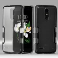 *Sale* TUFF Panoview Transparent Hybrid Case for LG Aristo 2 / Fortune 2 / K8 (2018) / Tribute Dynasty / Zone 4 - Black