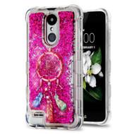 Tuff Lite Quicksand Glitter Case for LG Aristo 2 / Fortune 2 / K8 (2018) / Tribute Dynasty / Zone 4 - Dream Catcher