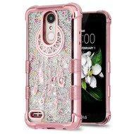 Tuff Lite Quicksand Electroplating Case for LG Aristo 2 / Fortune 2 / K8 2018 / Tribute Dynasty / Zone 4 - Dreamcatcher