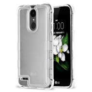 Tuff Lite Air Cushion Transparent Hybrid Case for LG Aristo 2 / Fortune 2 / K8 (2018) / Tribute Dynasty / Zone 4 - Clear