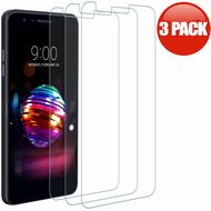 *SALE* HD Premium 2.5D Round Edge Tempered Glass Screen Protector for LG K30 - 3 Pack