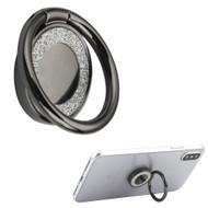 Smart Loop Universal Smartphone Holder & Stand - Crystal Bling Black