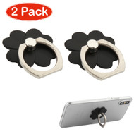 Smart Loop Universal Smartphone Holder & Stand - Flower Black Twin Pack