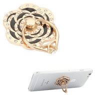 Smart Loop Universal Smartphone Holder & Stand - Diamond Flower Black