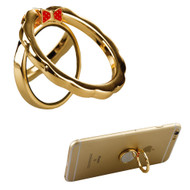 Smart Loop Universal Smartphone Holder & Stand - Bowknot Gold