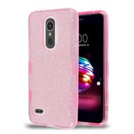 *Sale* Tuff Full Glitter Hybrid Protective Case for LG K30 - Pink