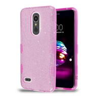 *Sale* Tuff Full Glitter Hybrid Protective Case for LG K30 - Purple
