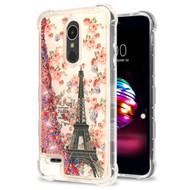 *Sale* Tuff Lite Quicksand Glitter Case for LG K30 - Paris Full Bloom