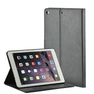 Premium Book-Style Smart Leather Folio Case with Screen Protector for iPad Pro 9.7 inch - Black