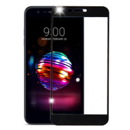Premium Full Coverage Tempered Glass Screen Protector for LG K30 - Black