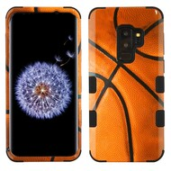 Military Grade Certified TUFF Image Hybrid Armor Case for Samsung Galaxy S9 Plus - Basketball