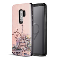 *Sale* Art Pop Series 3D Embossed Printing Hybrid Case for Samsung Galaxy S9 Plus - Paris