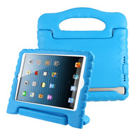 Kids Friendly Shock Proof Standing Case with Handle for iPad (2018/2017) / iPad Pro 9.7 / iPad Air 2 / iPad Air - Blue