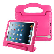 Kids Friendly Shock Proof Standing Case with Handle for iPad (2018/2017) / iPad Pro 9.7 / iPad Air 2 / iPad Air - Pink