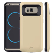 Power Bank Battery Case 5500mAh for Samsung Galaxy S8 Plus - Gold