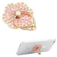 Smart Loop Universal Smartphone Holder & Stand - Diamond Flower Pink