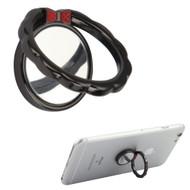 Smart Loop Universal Smartphone Holder & Stand - Bowknot Black