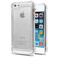 Tough Snap-on Crystal Fusion Case for iPhone SE / 5S / 5 - Clear