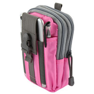 Tactical MOLLE Cell Phone Pouch - Pink