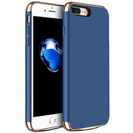 Ultra Slim Smart Power Bank Battery Case 2300mAh for iPhone 8 / 7 - Blue