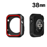Performance Sports Bumper Case for Apple Watch 38mm - Red Black